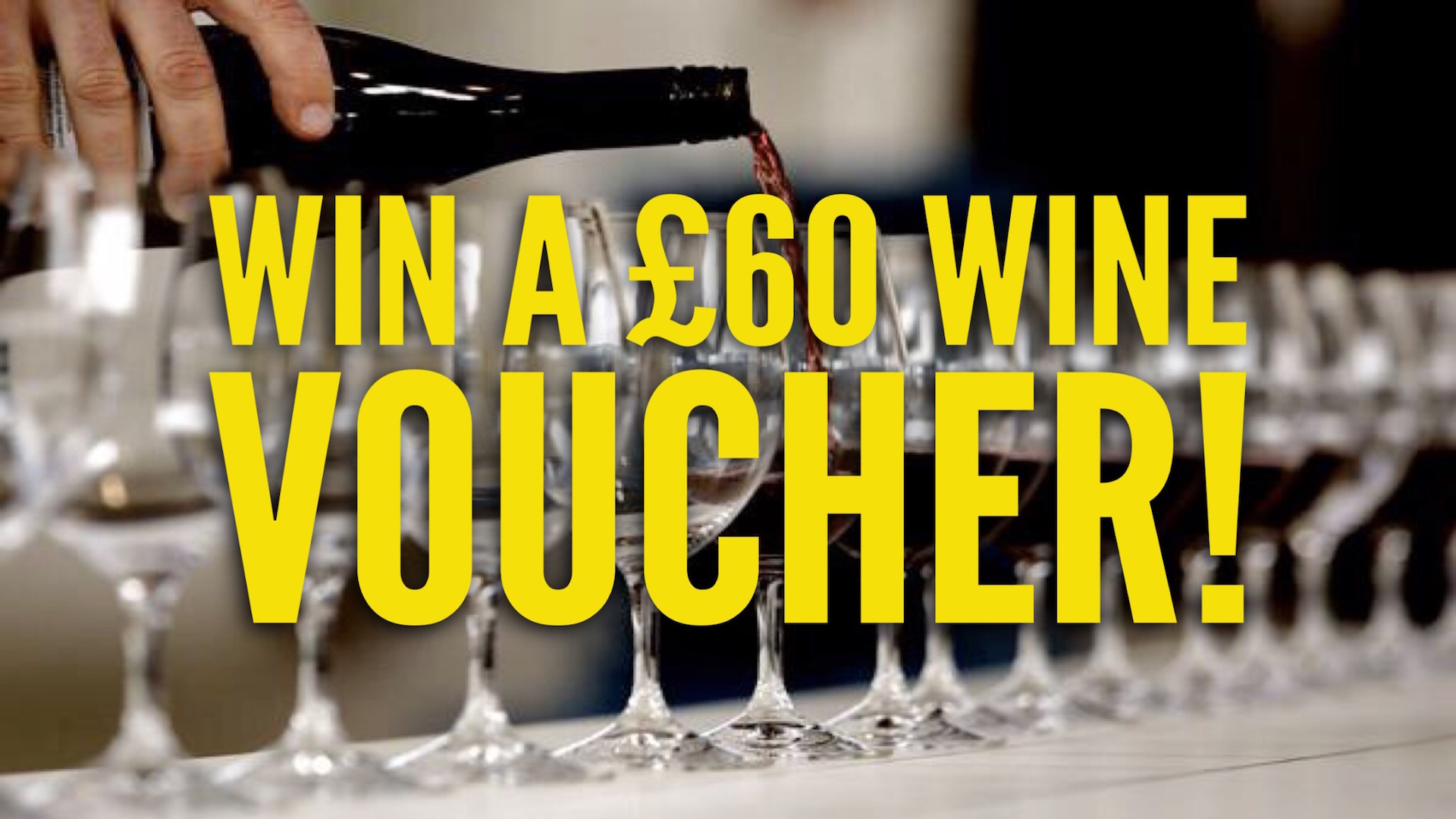 COMPETITION: Win a £60 wine voucher!