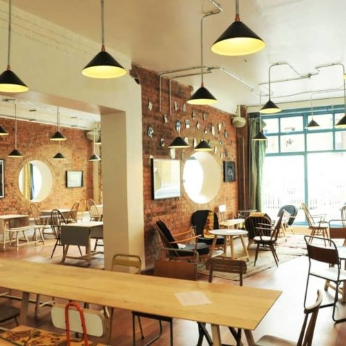 east London workspaces office cafe
