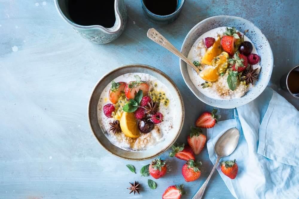 fuel your guests breakfast flatlay