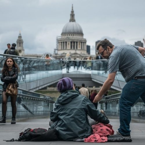 helping the homeless London St Paul's