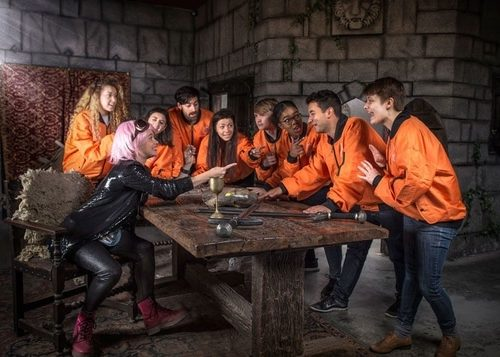 Crystal Maze London medieval room team away day