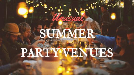 Unusual Summer Party Ideas