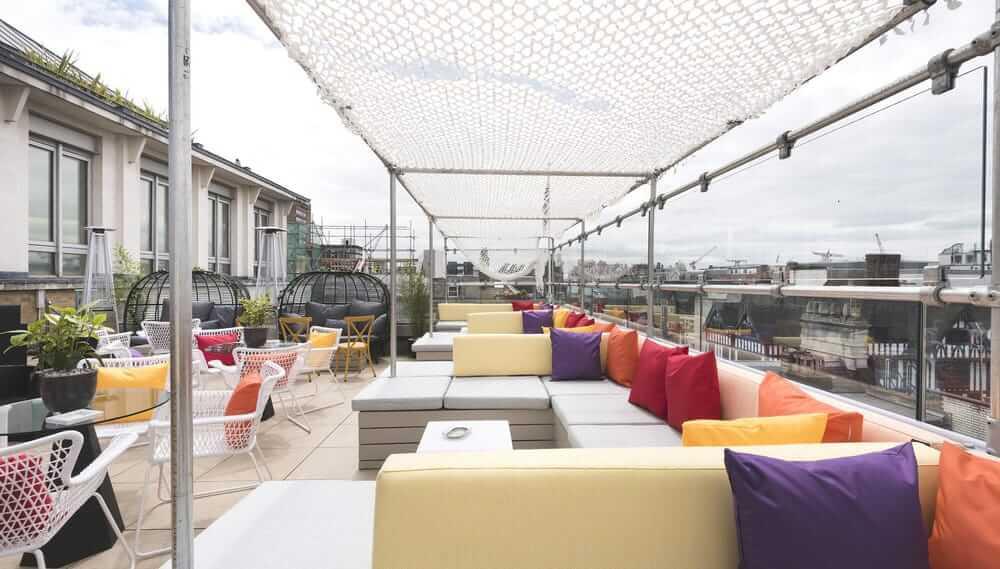 Soho Sky Terrace Courtyard Hotel London