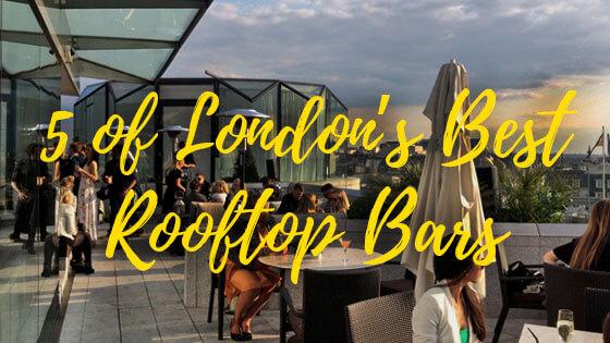 5 Of London's Best Rooftop Venues