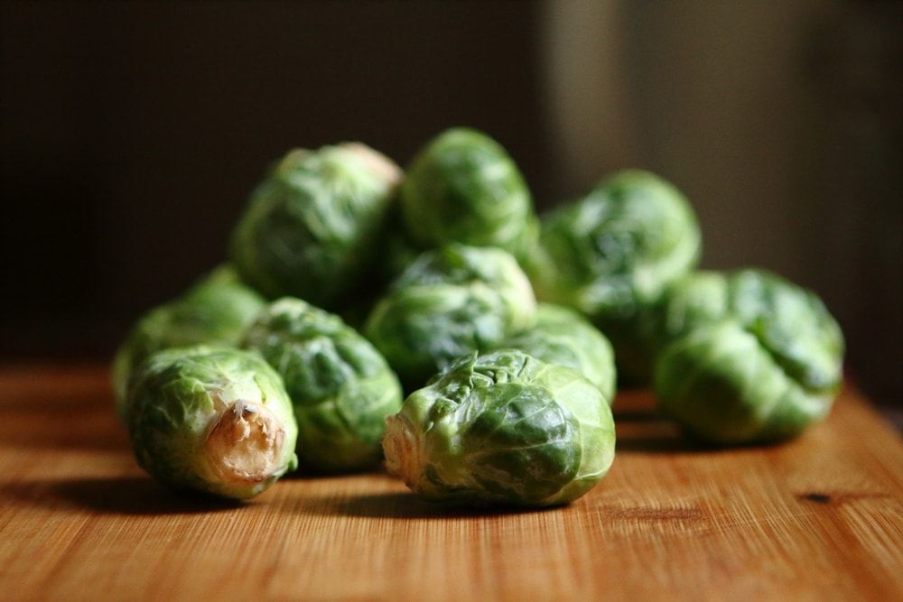 annual Christmas lunch brussel sprouts