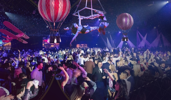 Battersea Evolution shared Christmas parties in London