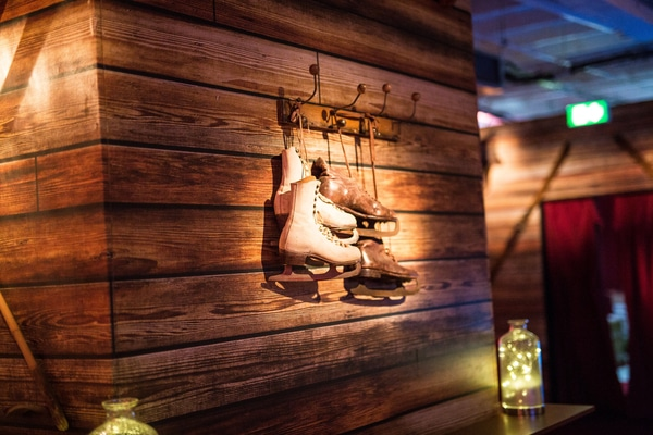 Christmas at the Lodge shared Christmas parties London