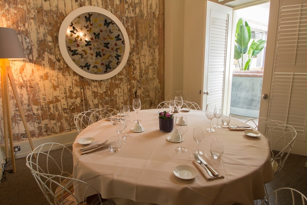 Cigalon private dining rooms in London