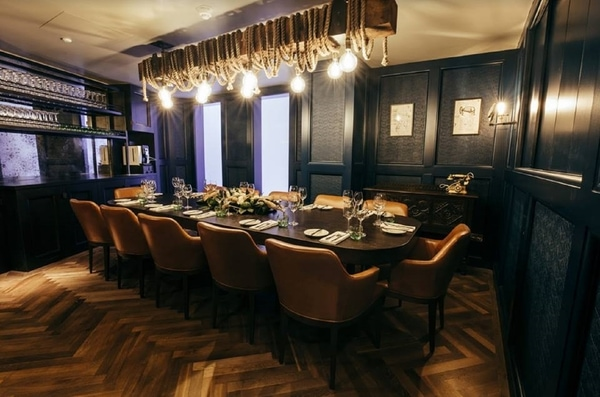 The Kitty Hawk private dining room