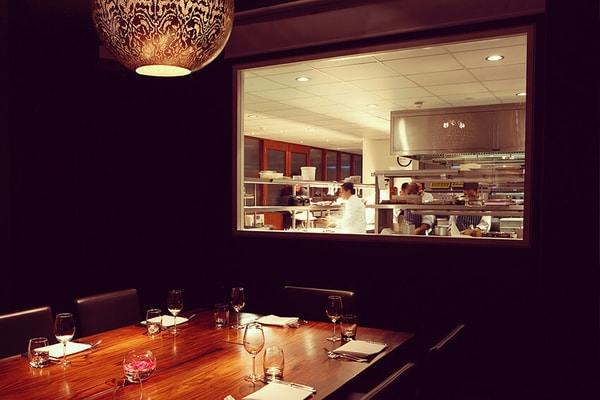 Cinnamon Kitchen and Anise Bar private dining room