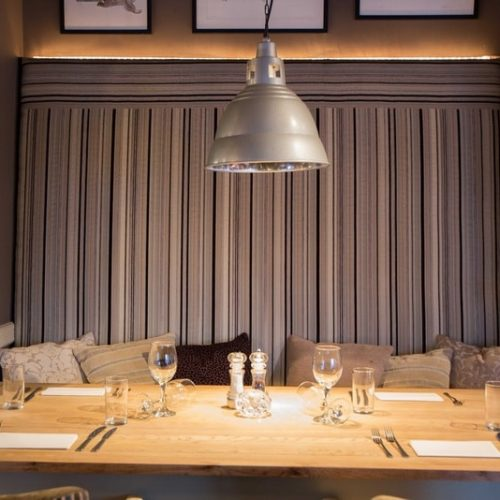 private dining rooms UK pub seating