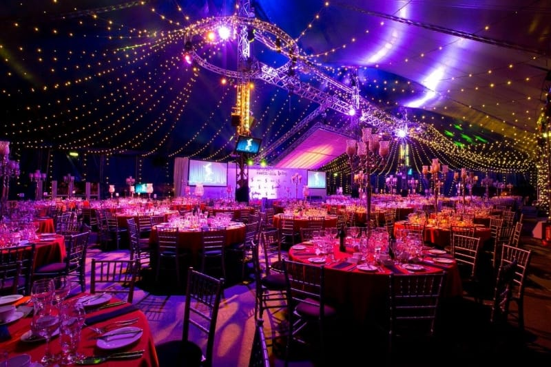 shared Christmas parties Bloomsbury Big Top