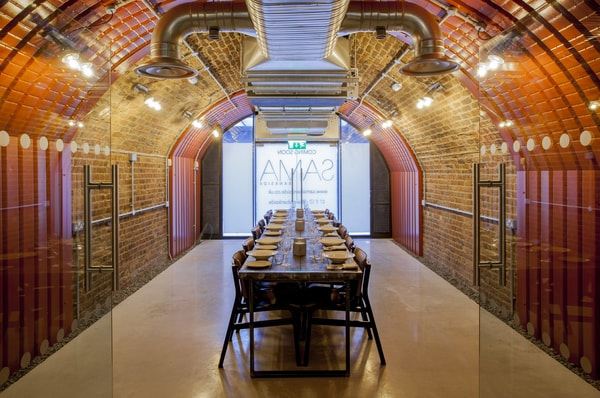 SAMA Bankside private dining rooms in London