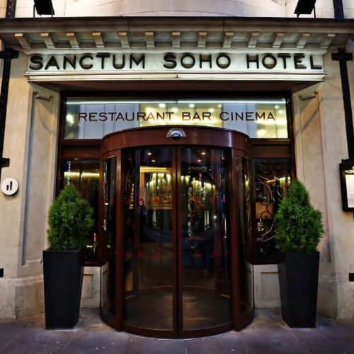 Sanctum Soho Hotel entrance