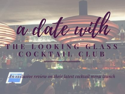 A Date With Looking Glass Cocktail Club