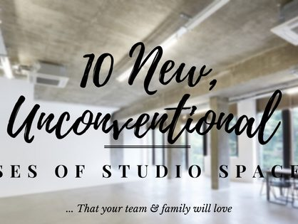 10 New, Unconventional Uses Of Studio Space