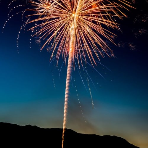 VenueScanner organisers 2018 fireworks