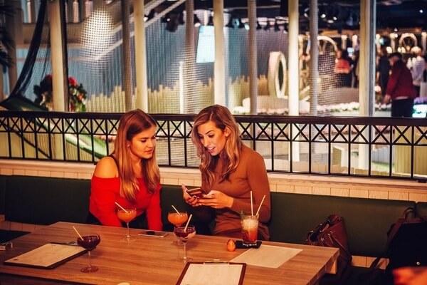 Swingers West End venue cocktails