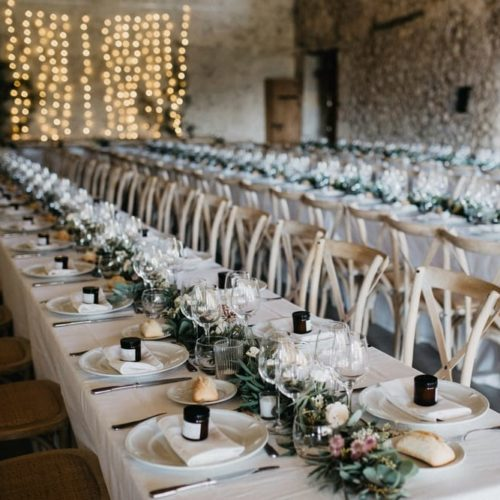 venue marketing tips wedding tables