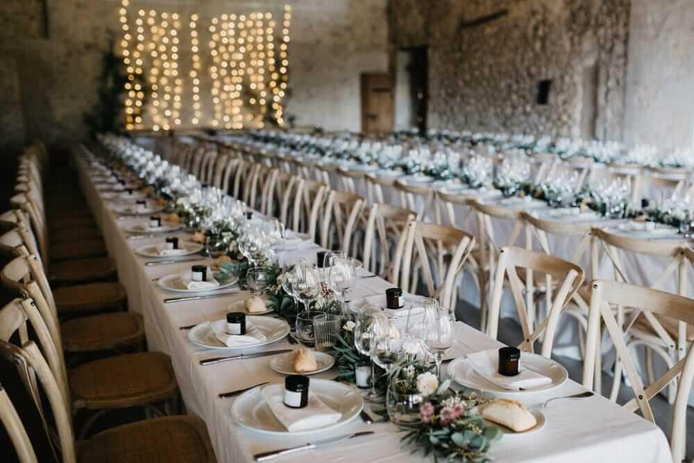 venue marketing tips wedding tables