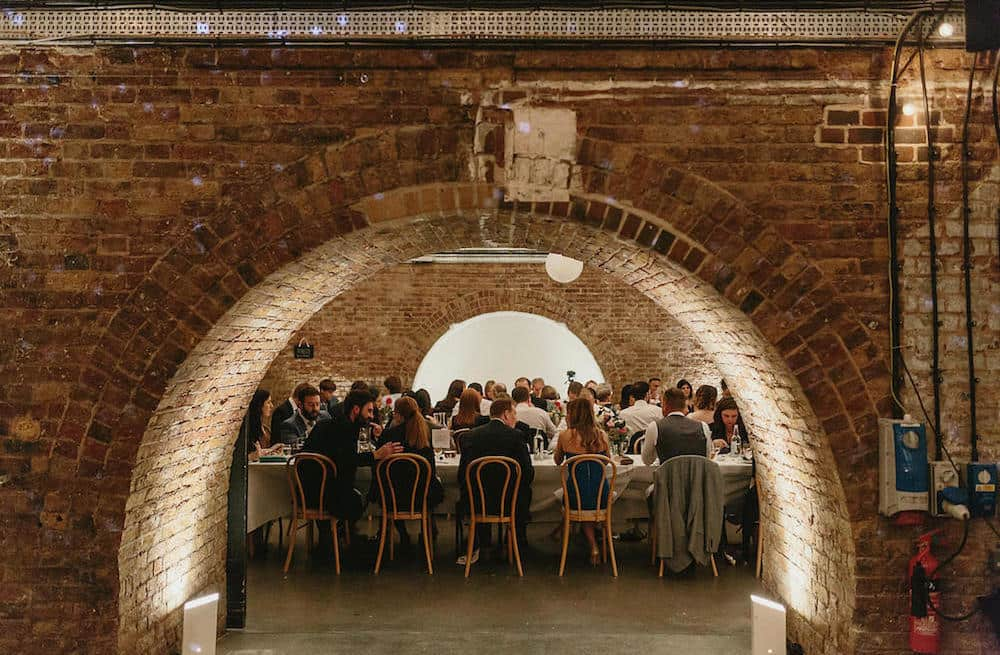 warehouses hire east London feature arch