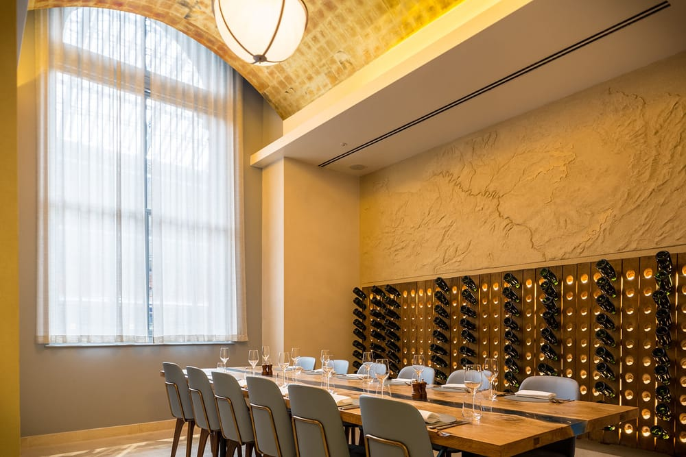 Searcys St Pancras Tasting Room private dining
