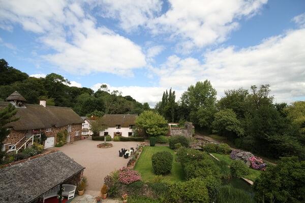 Bickleigh Castle wedding venue exclusive hire