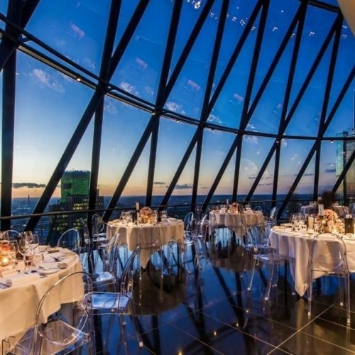 Searcys The Gherkin iconic party venues in London