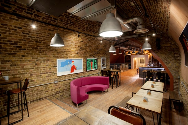 entrance lounge SAMA Bankside