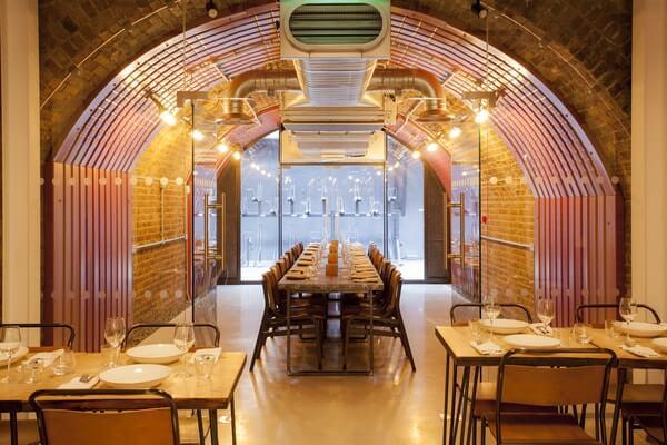 private dining SAMA Bankside