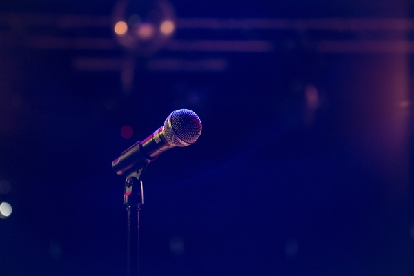 microphone stand music event
