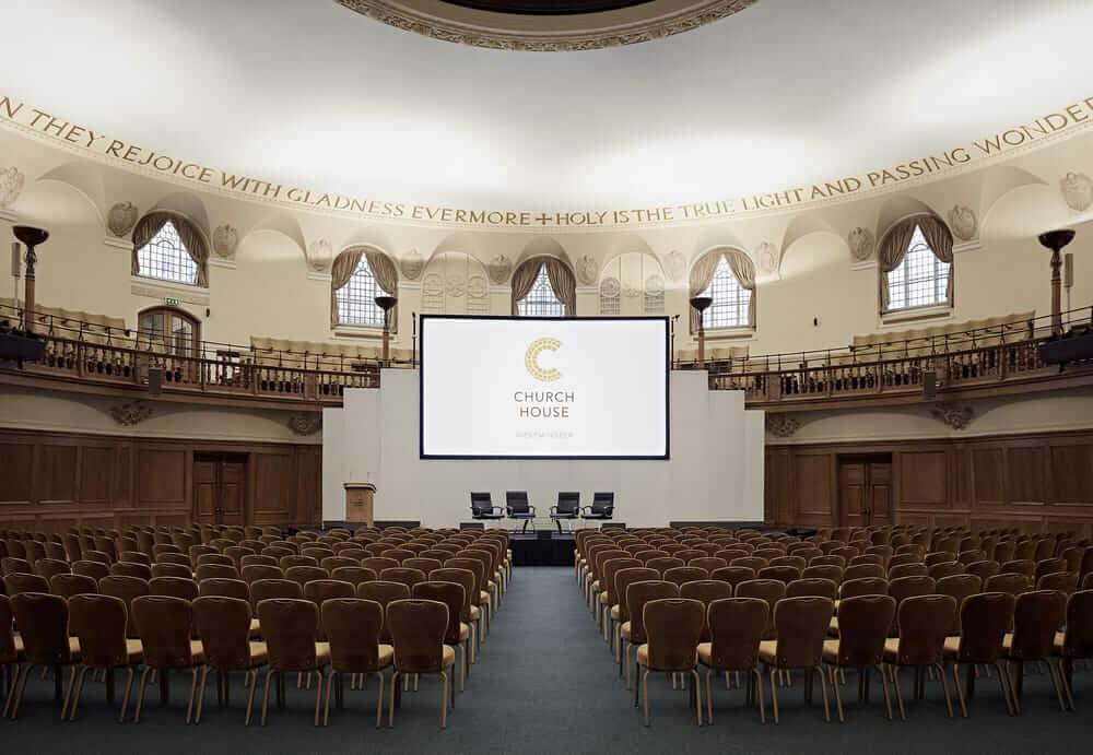 Church House Westminster venue hire conferences London