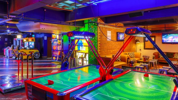 amusement centre as an 18th birthday party venue