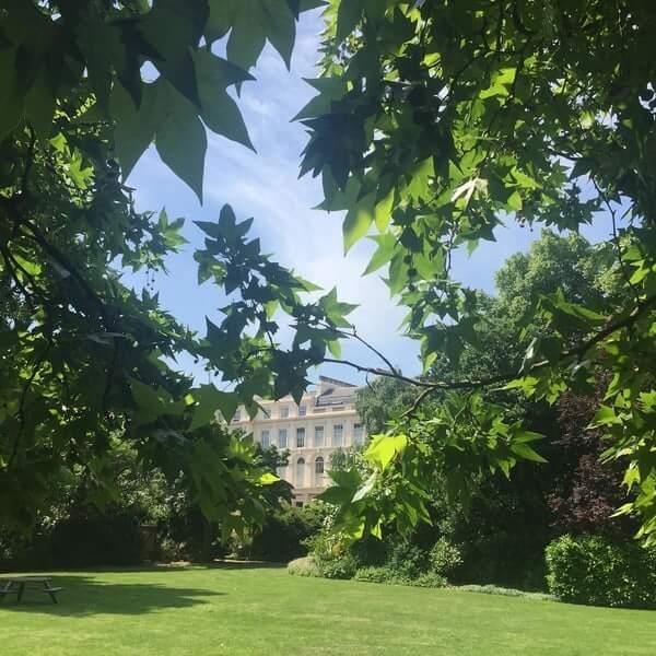 Park Square Gardens One Park Crescent London
