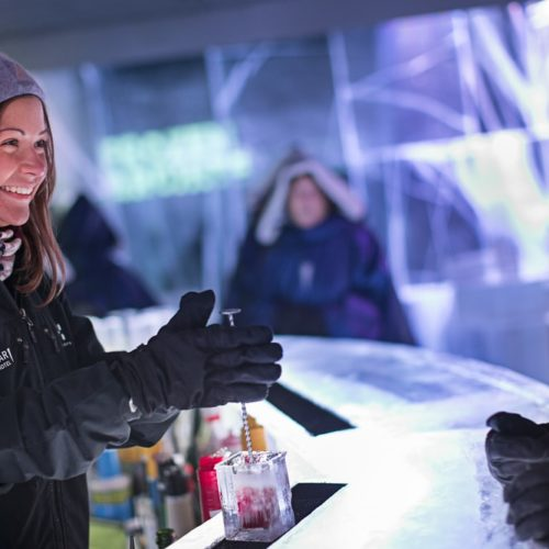 corporate events in London Belowzero ICEBAR