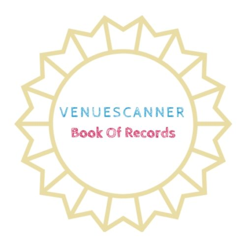 VenueScanner book of records