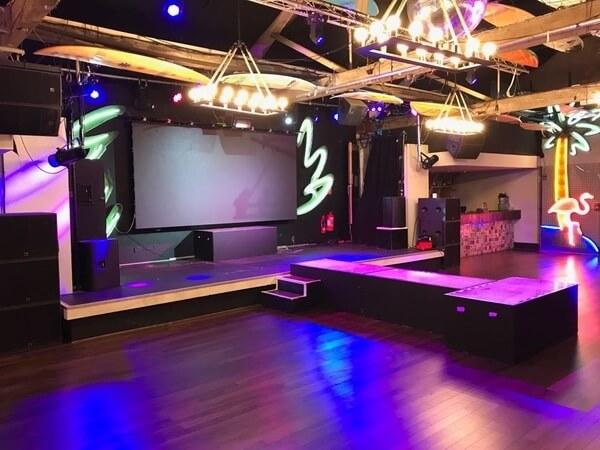 FEST Camden gig room