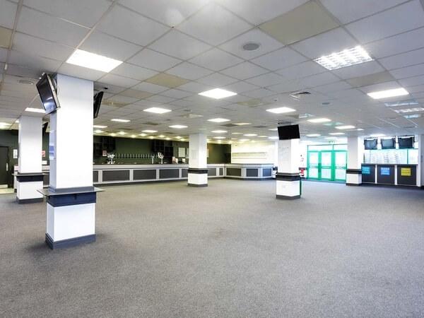 Brighton Racecourse Grandstand Hall