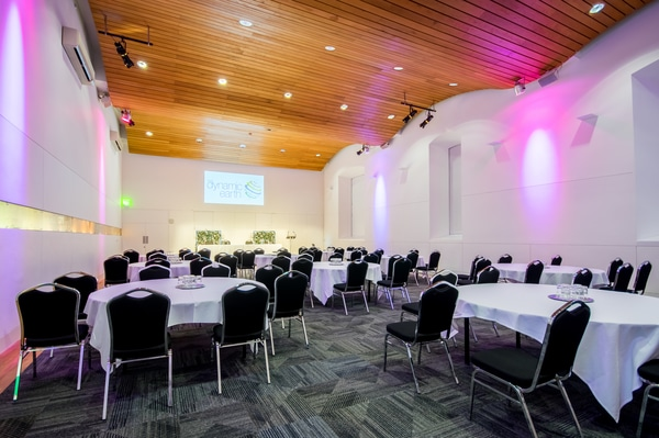 Dynamic Earth Biosphere conference venues in Edinburgh