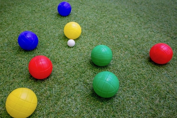 Haptivate Hub balls astroturf