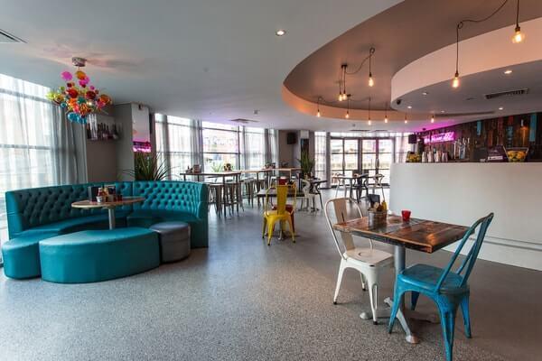 Oracle Bar Leeds interior