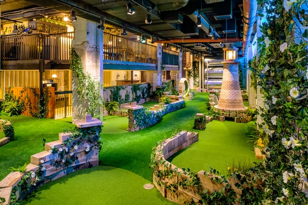 Swingers City mini golf course