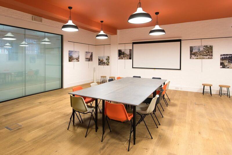 London Bridge Hive meeting room