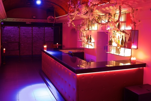 Toy Room London pink bar