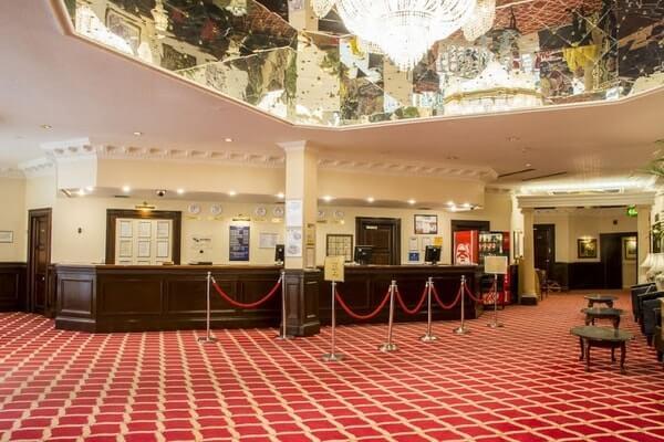 Britannia Sachas Hotel Manchester lobby
