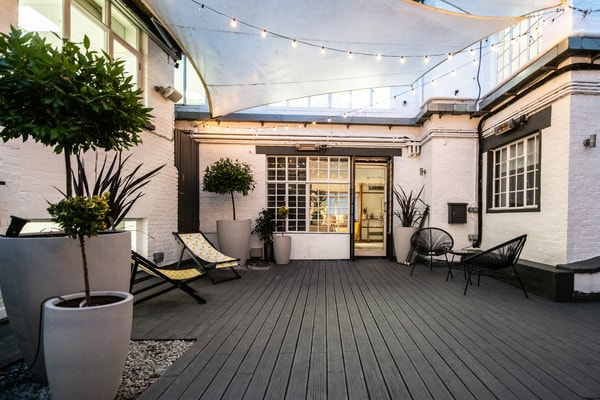 Runway East Soho roof terrace