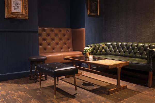 The Raging Bull Edinburgh private room