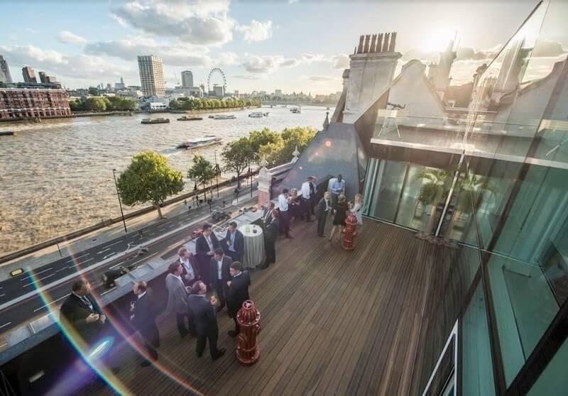 58ve rooftop venues in London