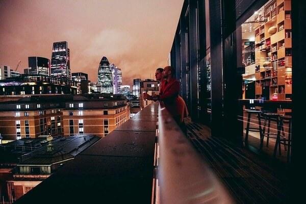 CloudM Tower of London rooftop venue