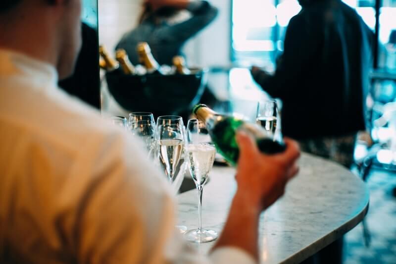VenueScanner Concierge champagne